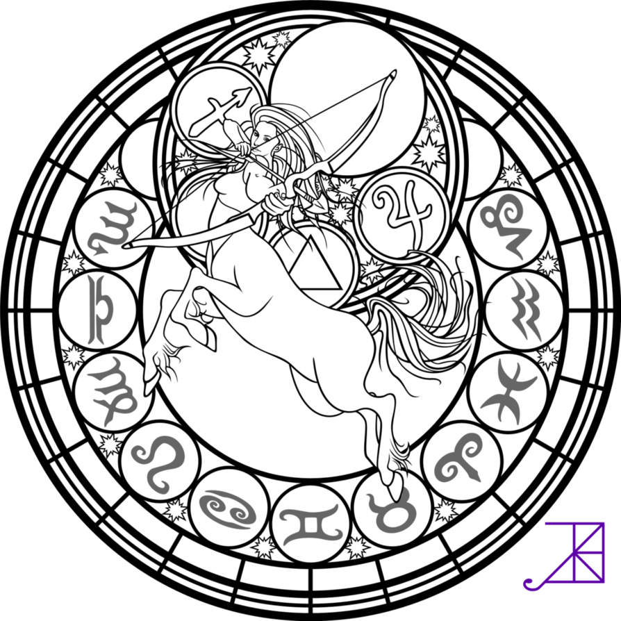 894x894 Astrology Coloring Pages