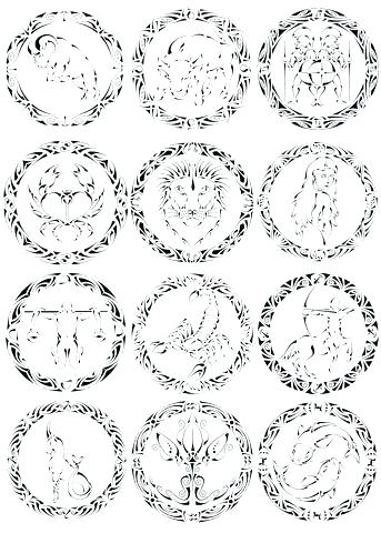 343x480 Astrology Coloring Pages Astrology Coloring Pages View Detailed
