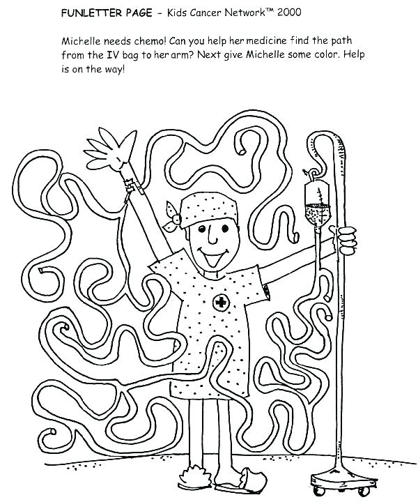 600x720 Cancer Coloring Pages Cancer Coloring Book As Well As Cancer
