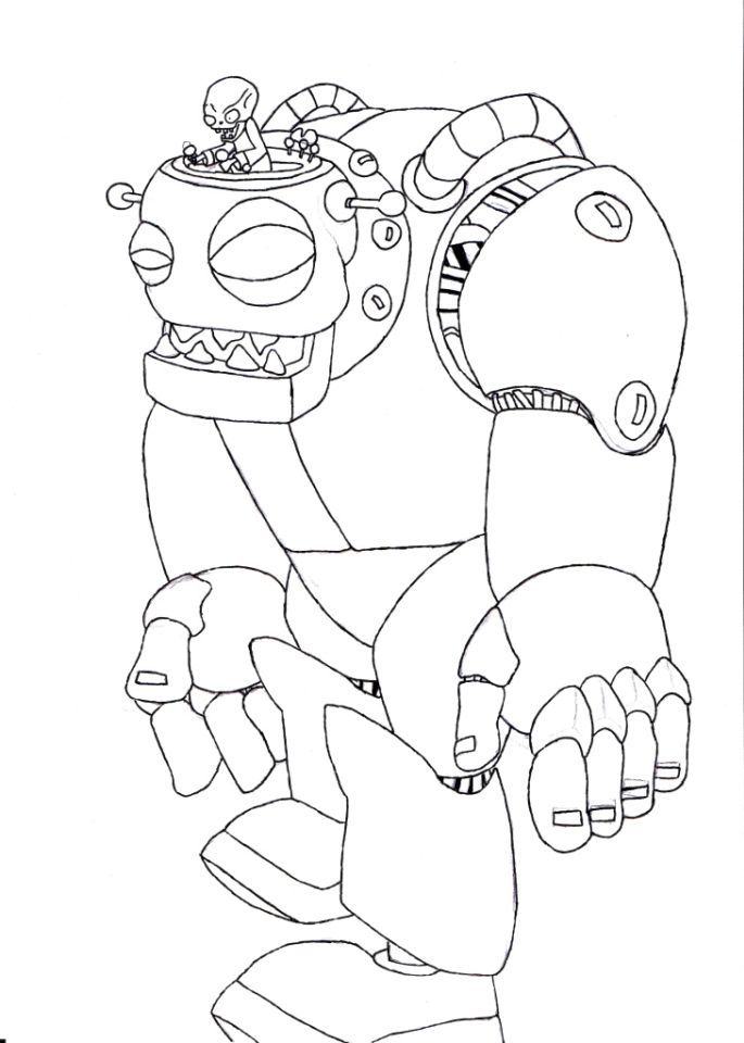 685x960 Plants Vs Zombies Coloring Pages Kids Printable For Plants