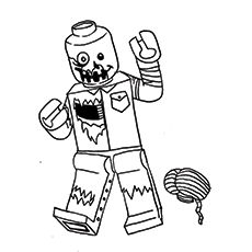 230x230 Top Zombie Coloring Pages For Your Kids