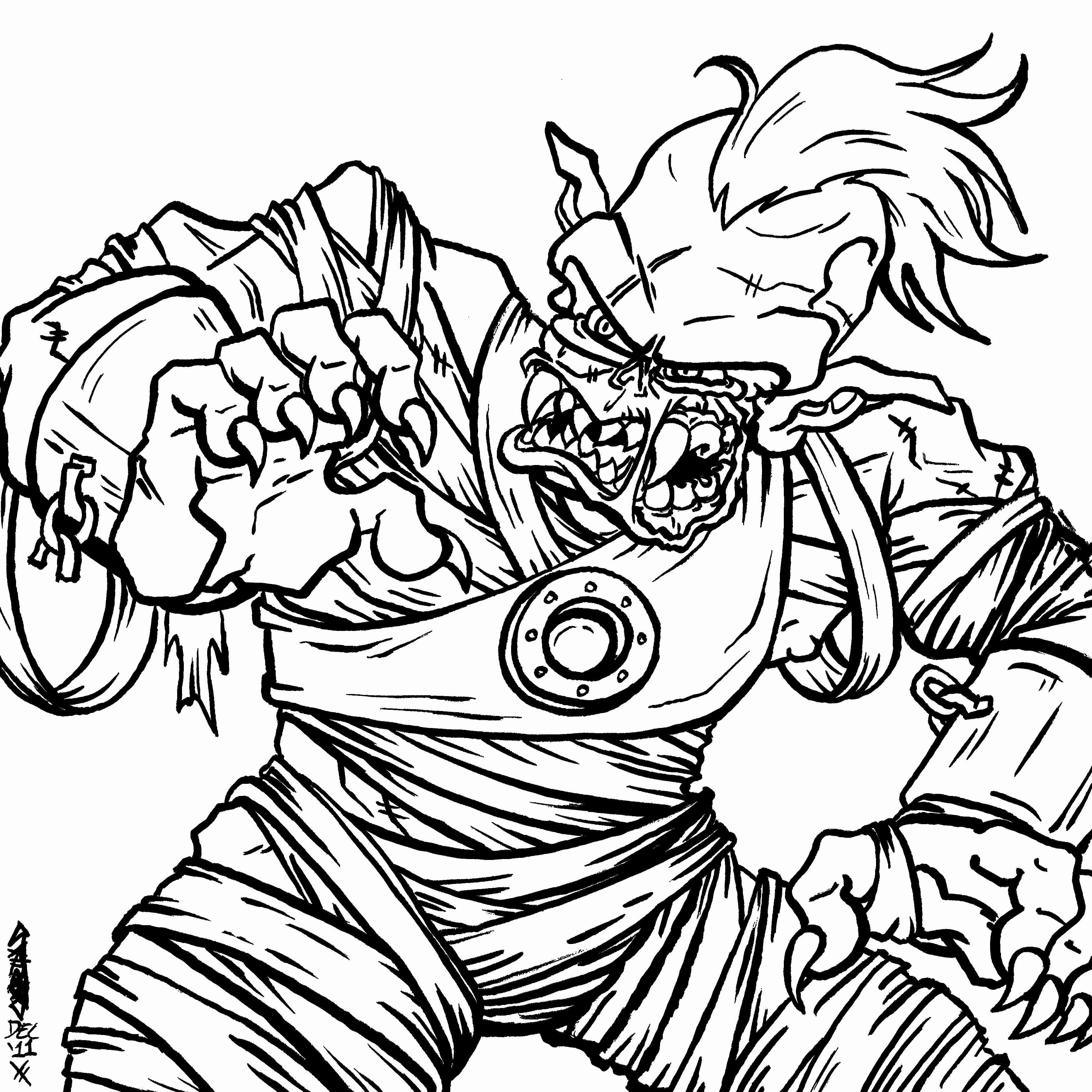 3600x3600 Zombie Coloring Pages Olegratiy Zombie Coloring Pages Picture