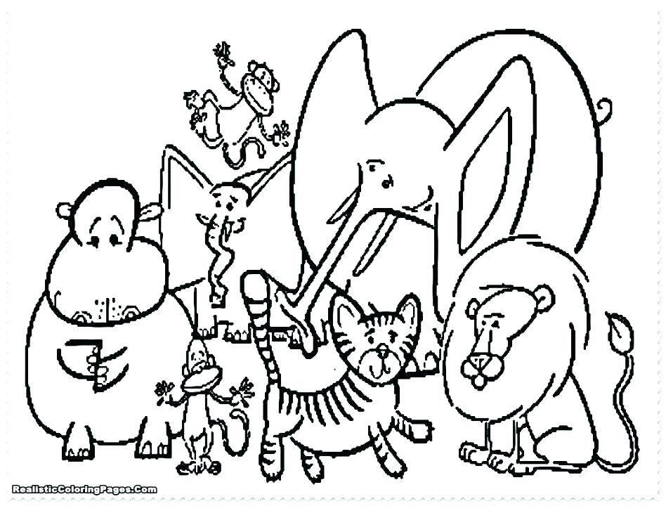 948x720 Zoo Coloring Book Zoo Animal Coloring Pages For Animals Book Zoo