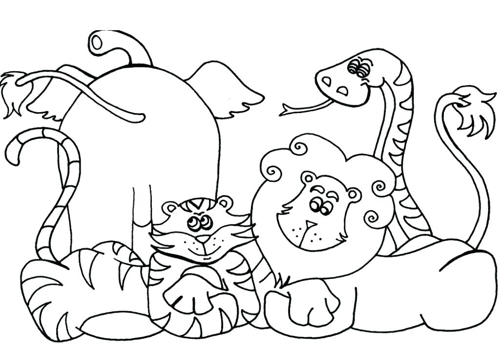 1024x720 Zoo Coloring Pages Zoo Animals Coloring Page Zoo Coloring Pages