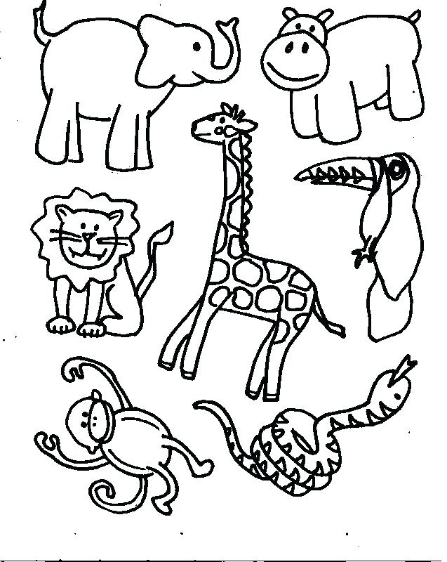 637x800 Idea Zoo Animals Coloring Pages And Preschool Learning Coloring