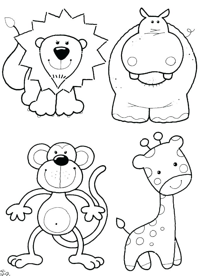 687x944 Zoo Animal Coloring Page Zoo Coloring Book As Well As Family Zoo