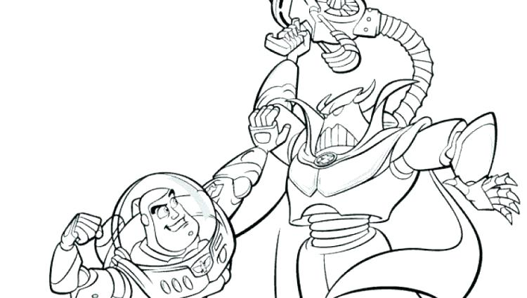 story coloring pages zurg - 28 images - kid buu coloring pages ... | 425x750