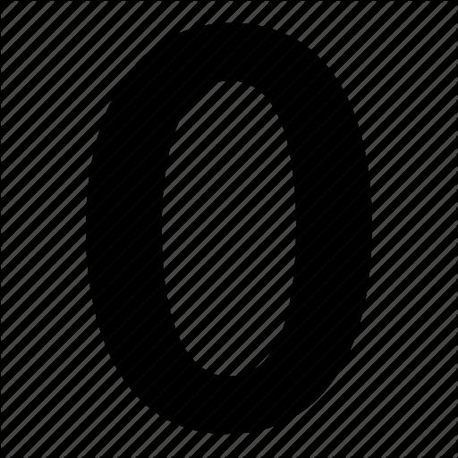 Null, Zero Icon