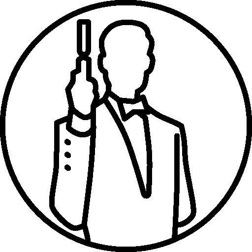 James Bond Icons Free Download