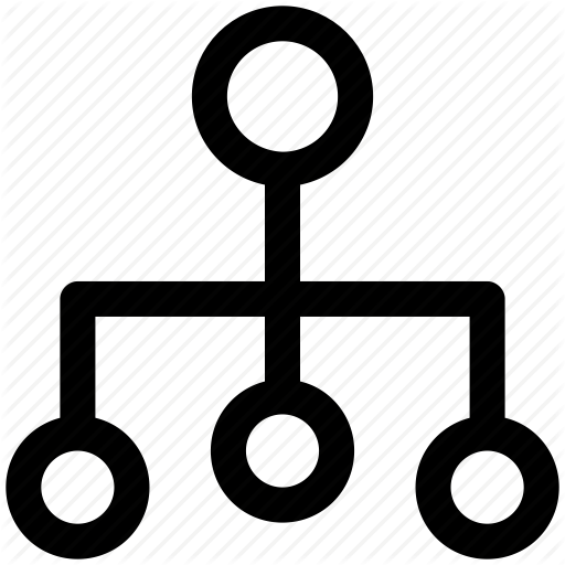 Above, Below, Connection, Hierarchy, Status Icon