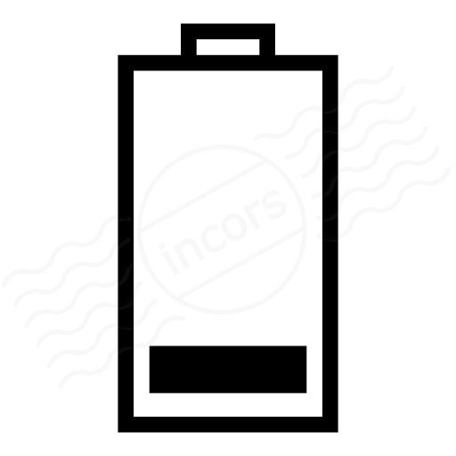 Iconexperience I Collection Battery Status Icon