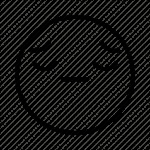 Emoji, Emoticon, Face, Portrait, Sad Icon