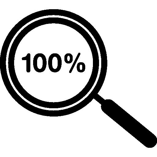 Percent Zoom Symbol
