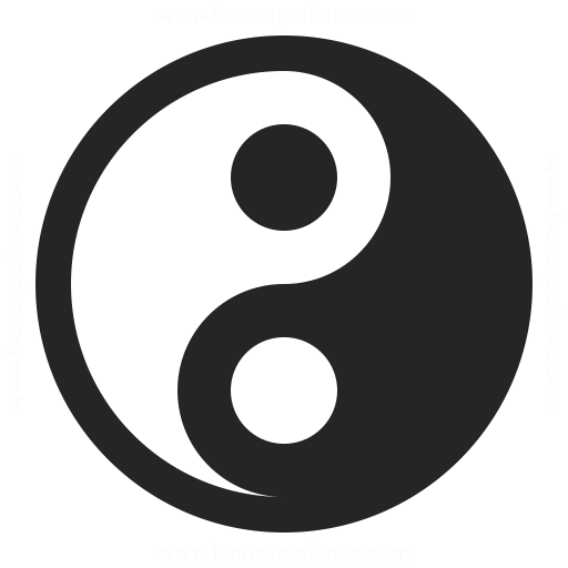 Yinyang Icon Iconexperience