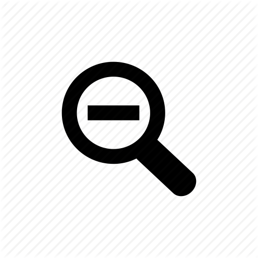Free Icon Zoom Out