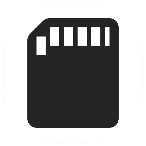 Sd Card Icon Iconexperience
