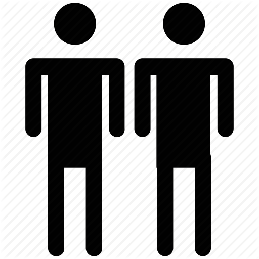 Couple, Family Members, Male, Man, Men, People, Two Person Icon
