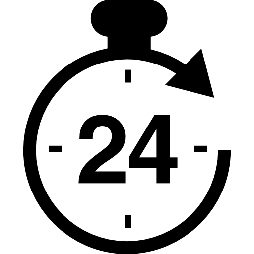 Hours Symbol Icons Free Download