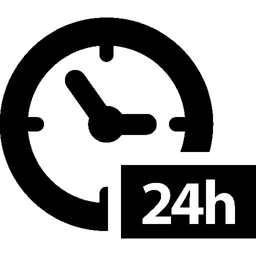 Hours Clock Symbol