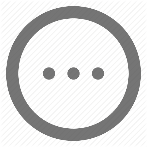 Additional, Circle, Detail, Material, More, Three Dots Icon
