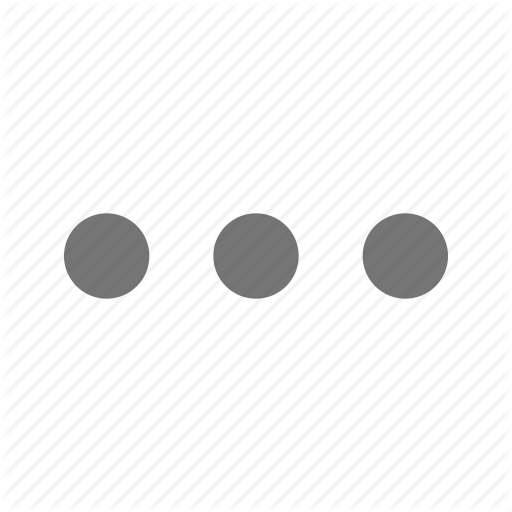 Additional, Detail, Horizontal, Material, More, Three Dots Icon