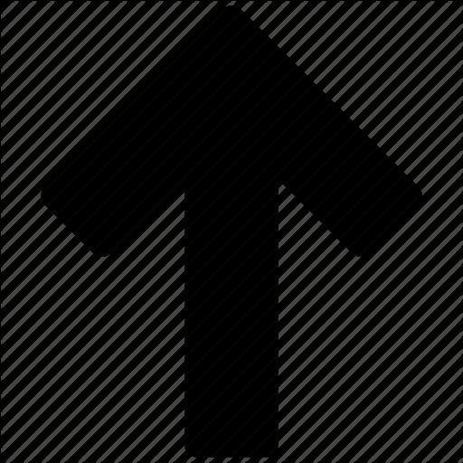 Arrow, Higher, Line, Top, Up, Upload, Upward Icon