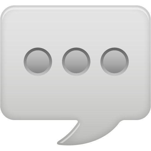 Message Bubble Icon Pretty Office Iconset Custom Icon Design