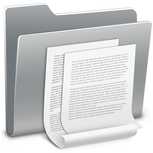 Documents, Folder Icon Free Of Hyperion Icons
