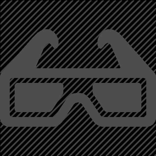 Glasses, Cinema, Glasses, Movie Icon