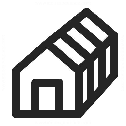 House Framework Icon Iconexperience