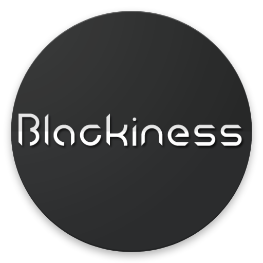 Android Blackiness Icon Pack Works With All Third Party