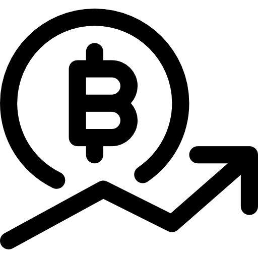 Bitcoin Icon Money Pixel Perfect