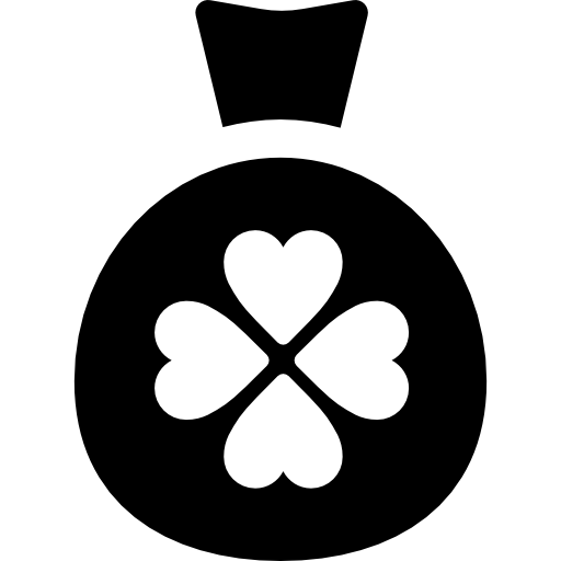 Medal With Four Leaf Clover Icons Free Download