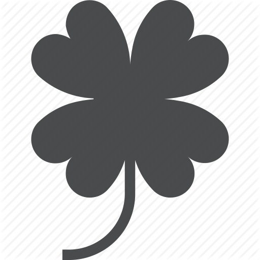 Clover, Four, Leaf, Lucky, St Patricks Icon
