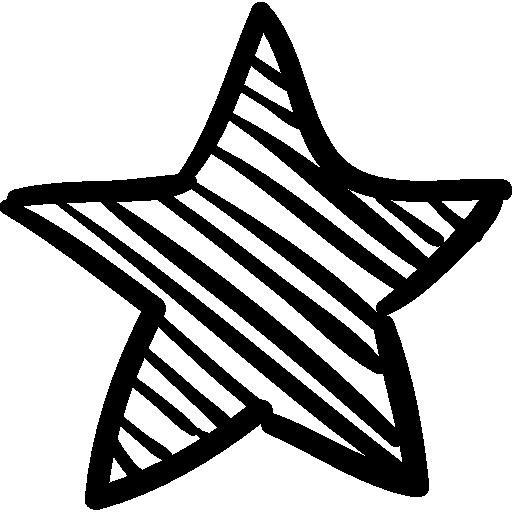 Favorites Star Sketch Icons Free Download