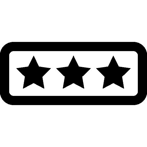Rating Flat Icon