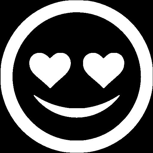 White In Love Icon