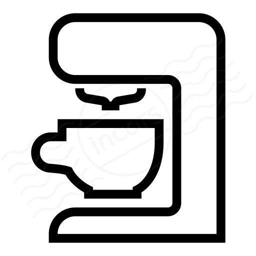 Iconexperience I Collection Coffee Machine Icon