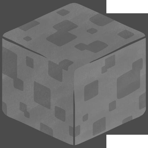 D Stone Icon Minecraft Iconset