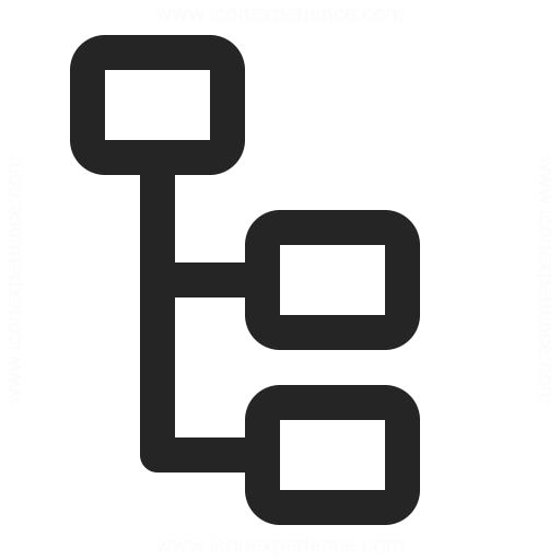 Elements Tree Icon Iconexperience