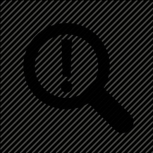 Alert, Answer, Attention, Audit, Browser, Error, Estimate Icon