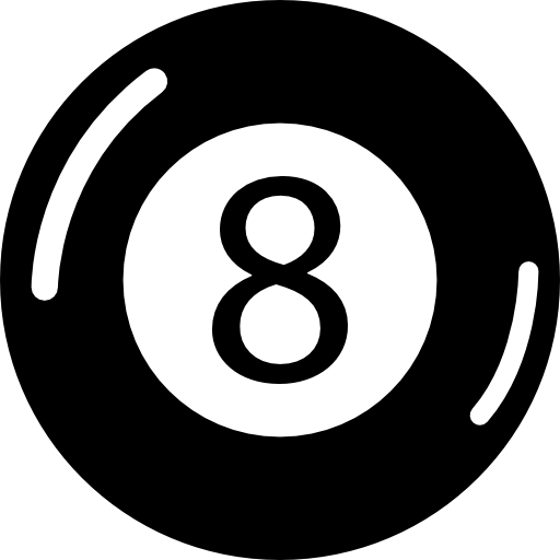 Eight Ball Billiards Icons Free Download