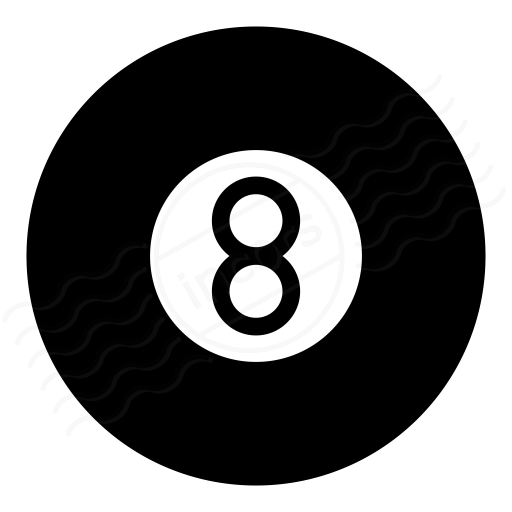 Iconexperience I Collection Eightball Icon
