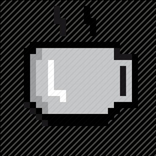 Beverage, Break, Coffee, Drink, Hot Drink, Pixels, Tea Icon