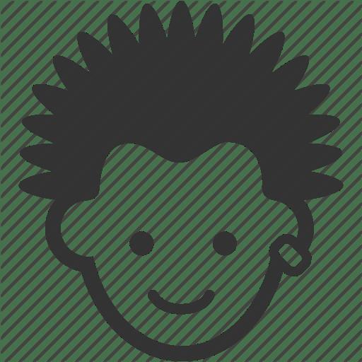 Punk Icon Male Hair