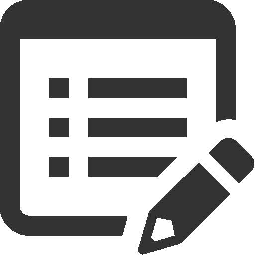 Edit, Property Icon