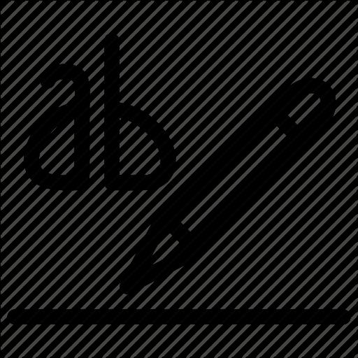 Ab, Color, Creative, Document, File, Grid, Head, Highlight