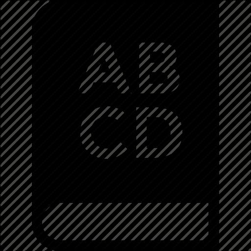 Abc, Alphabets, Book, Education, English Icon