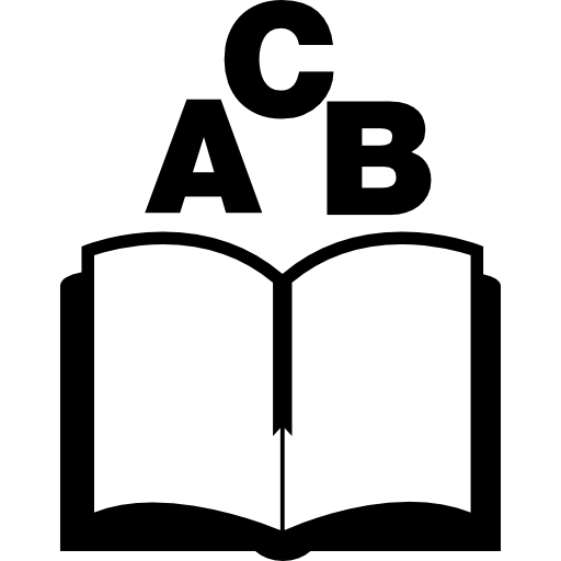 Abc Book Icons Free Download