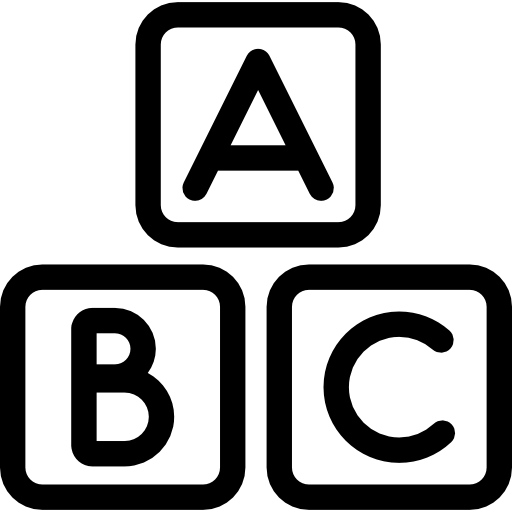 Abc Squares Icons Free Download